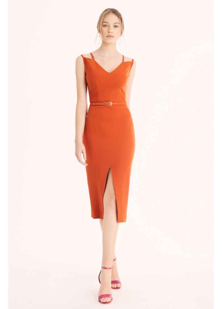 Rochie String Brick Orange