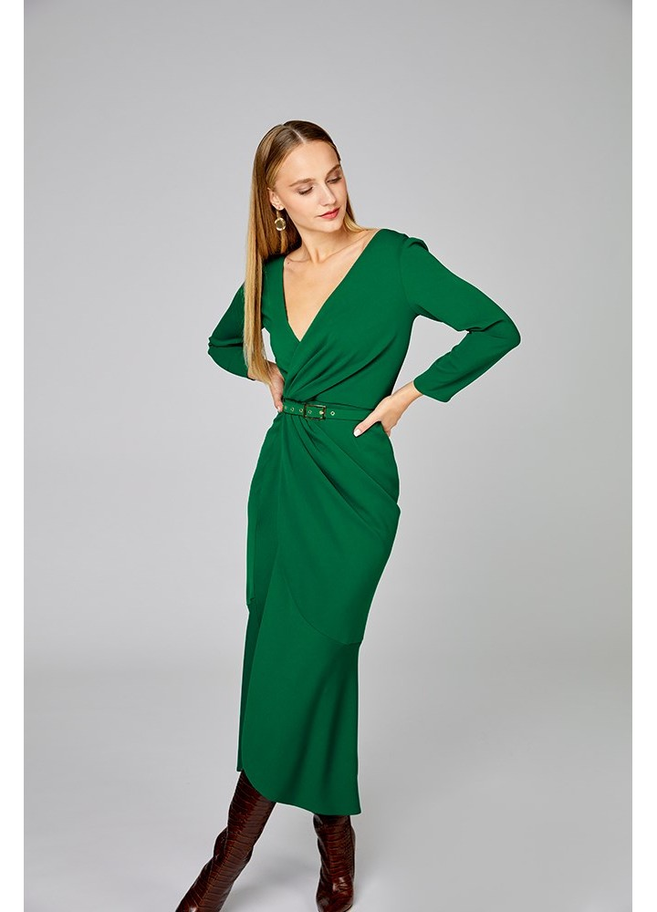 Rochie Tame Forest Green