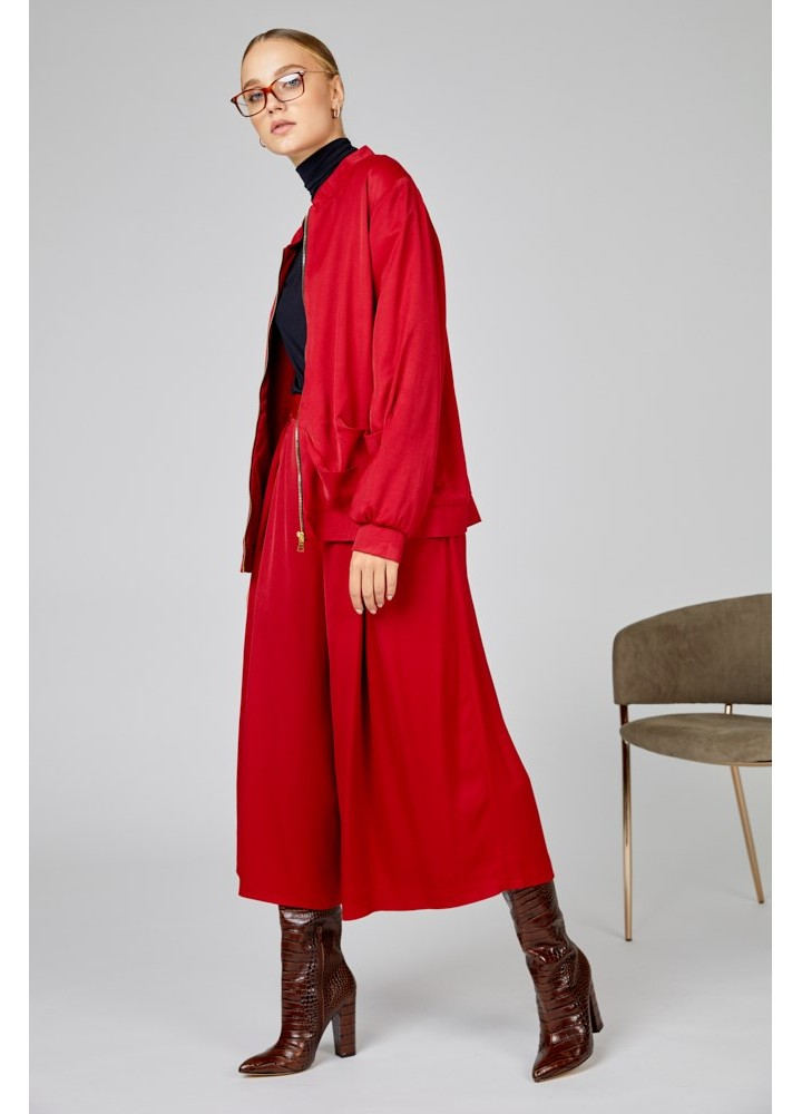 Culottes Breezy Classic Red