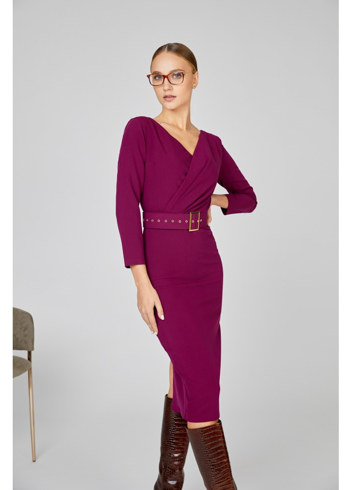 Rochie Houston Beet Red