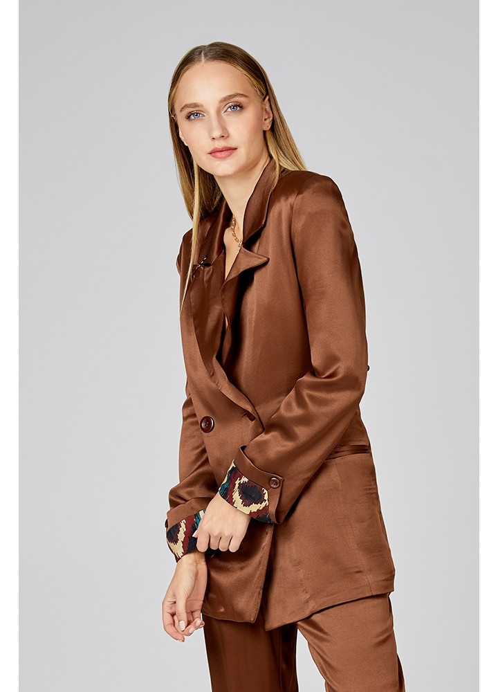Sacou Hazel Coffee Brown