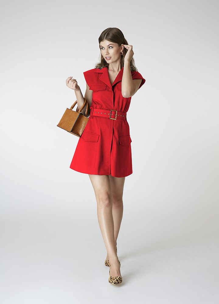 Rochie Admiral  Classic Red