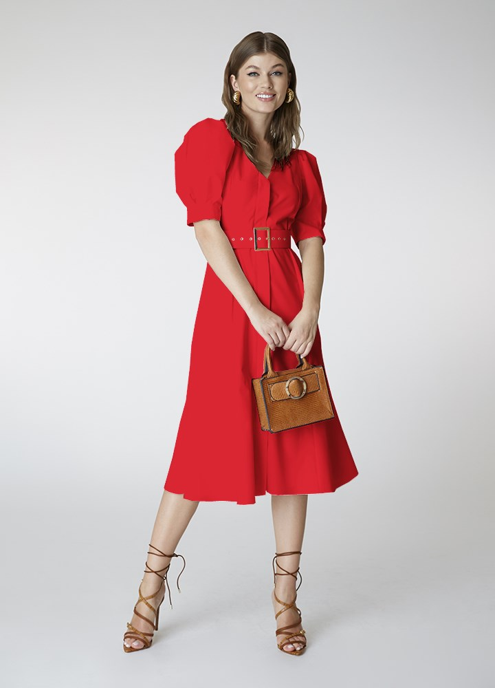 Rochie Bell Classic Red