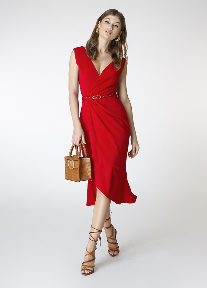 Rochie Fame Classic Red