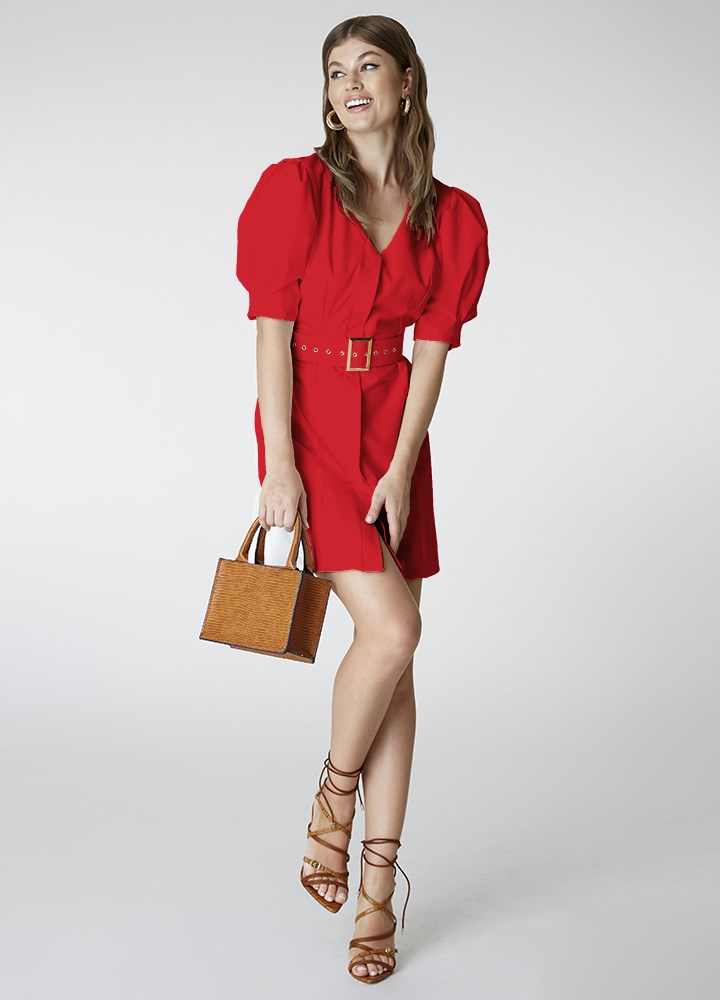 Rochie Joelle Classic Red
