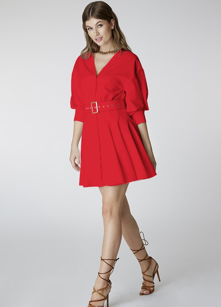 Rochie Rosy Classic Red