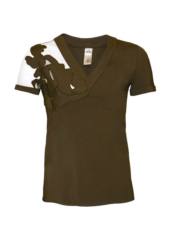 Tricou Stream Khaki Green