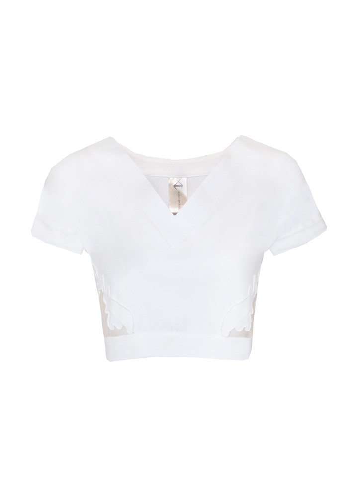 Tricou Wing Classic White