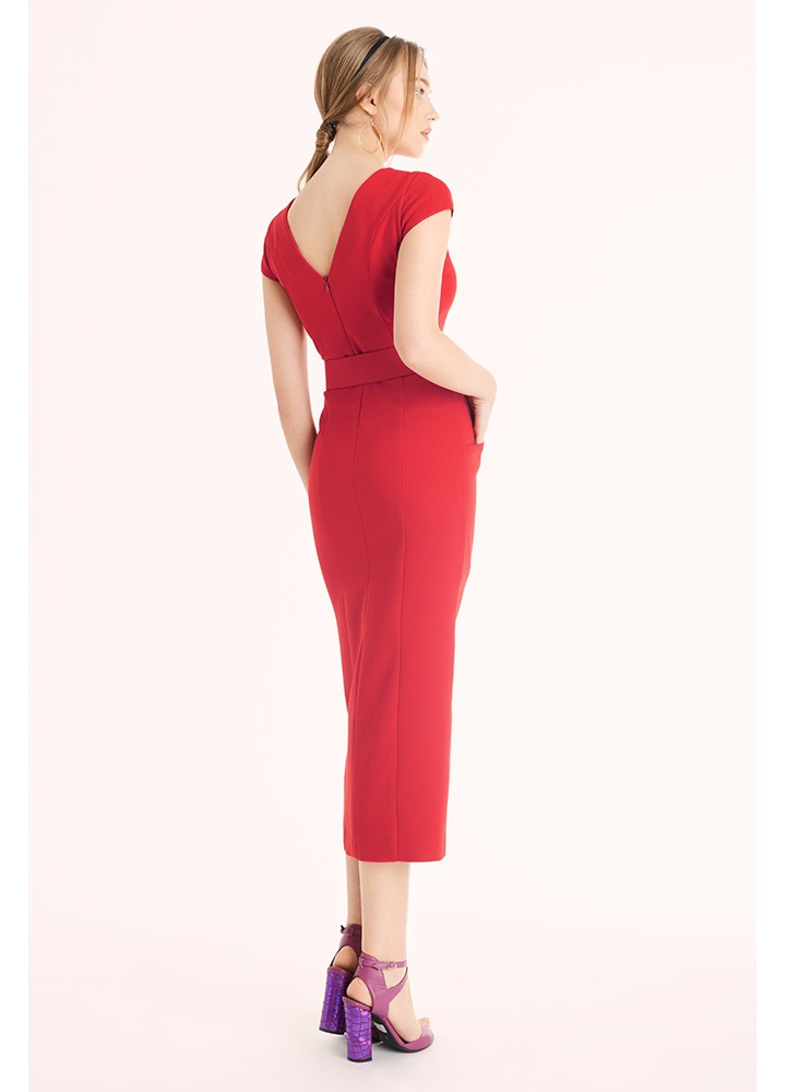 Rochie Harmony Classic Red