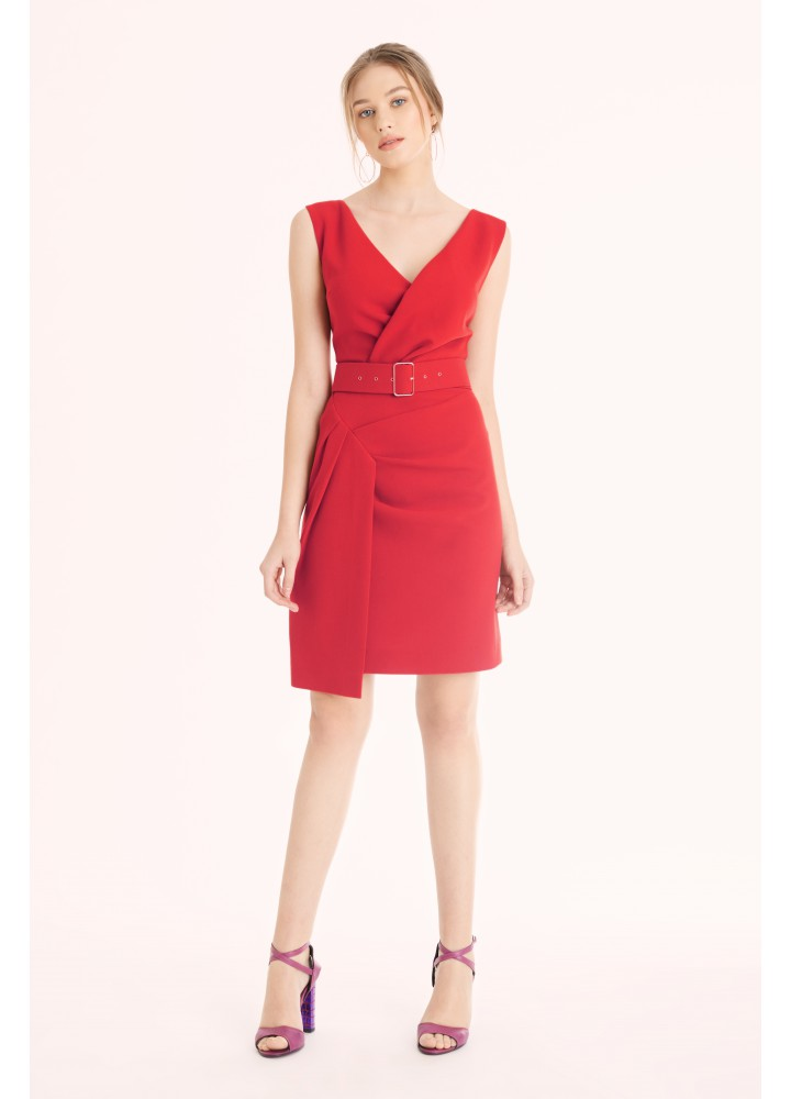 Rochie Charm Classic Red