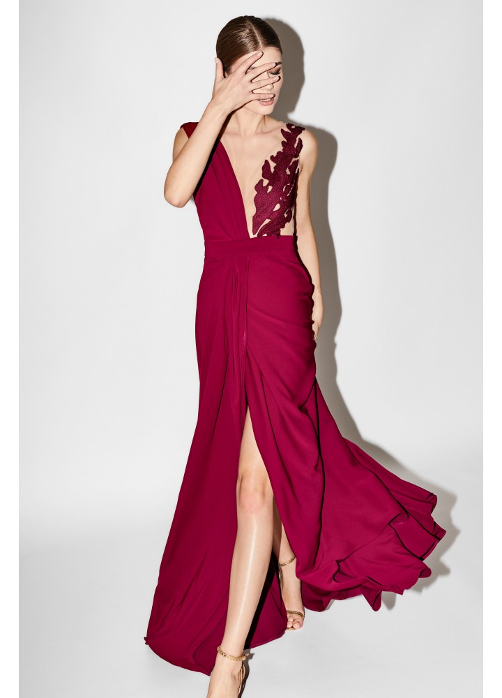 Rochie Orchid Beet Red