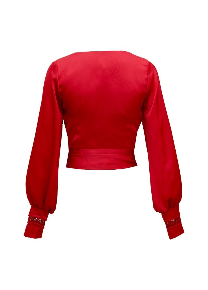 Bluza Wrap Classic Red