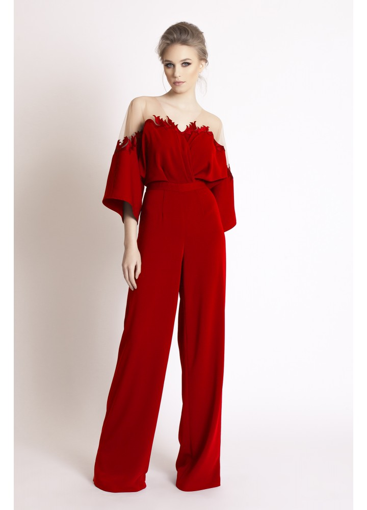 Sparrow Jumpsuit Classic Red