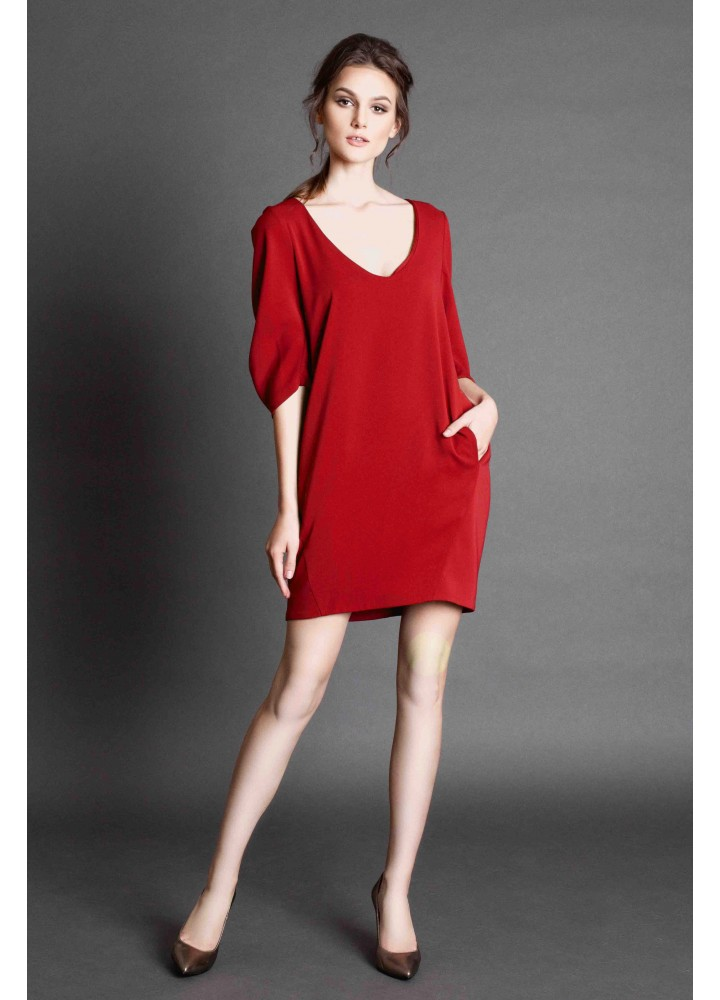Rochie Hollow Classic Red