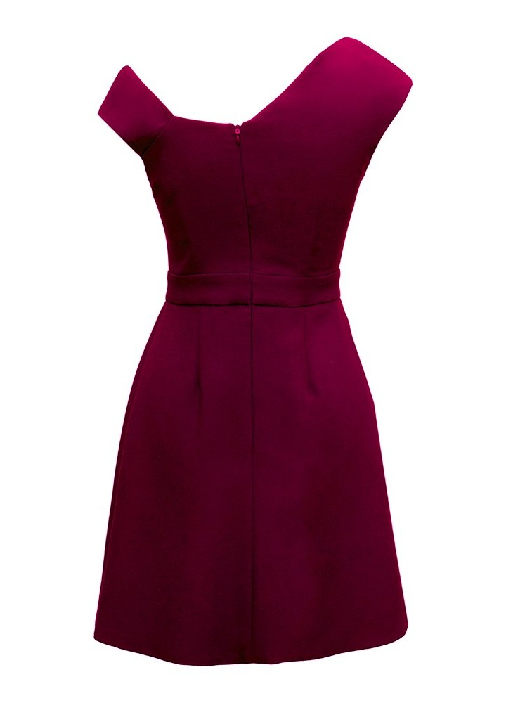 Rochie Maisy Beet Red