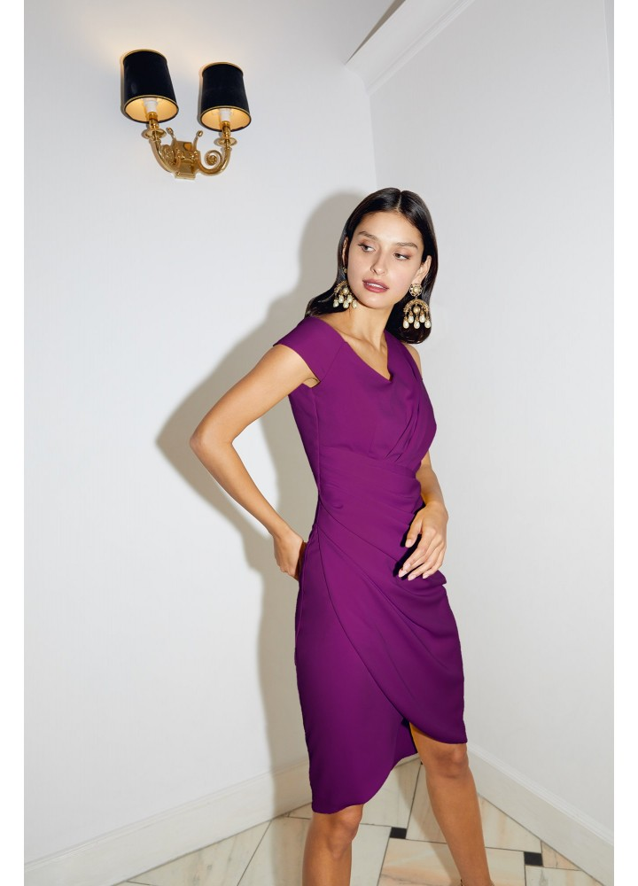 Rochie Bellini Grape Purple