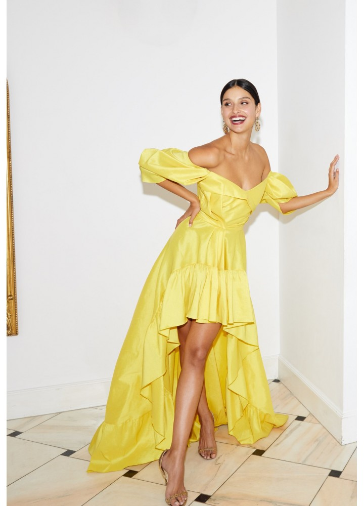 Rochie Sole Classic Yellow