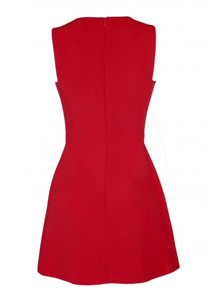 Rochie Daisy Classic Red