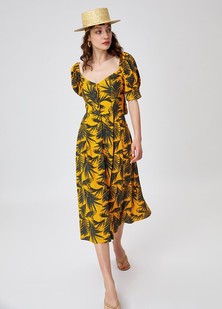 ROCHIE PALM TROPICAL YELLOW
