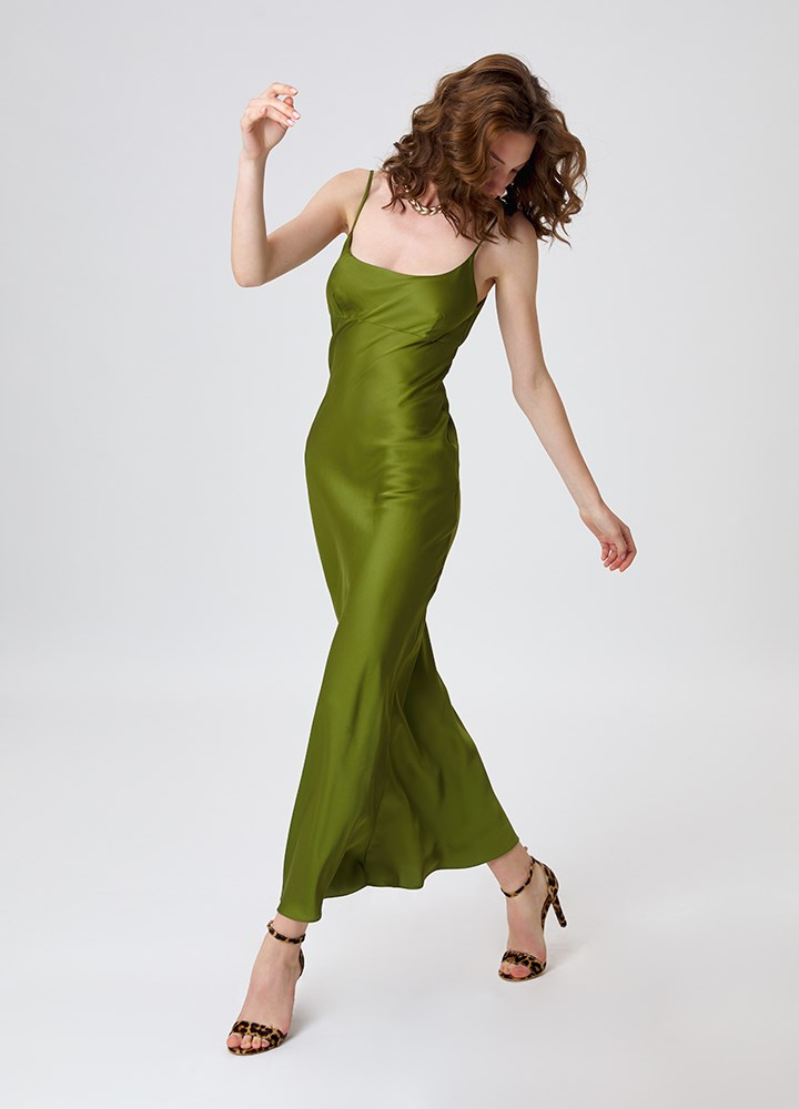 Rochie Treviso Olive Green